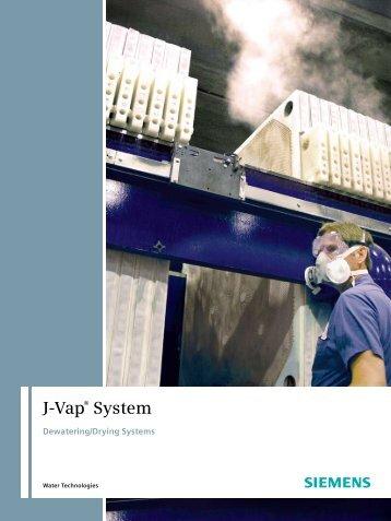 J-Vap® Dewatering/Drying System - Siemens Water Technologies