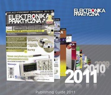 Publishing Guide 2011 - Elektronika Praktyczna