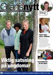 """Viktig satsning på ungdomar """" - Lierne kommune"""