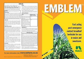 Emblem brochure - Pest Genie