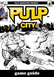 Pulp City Game Guide (Printer Friendly)