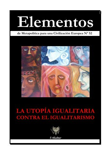 Elementos Nº 52. IGUALITARISMO - El Manifiesto