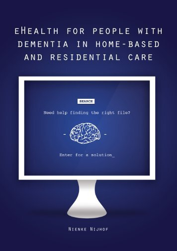 eHealth for people with dementia in home-based and residential care