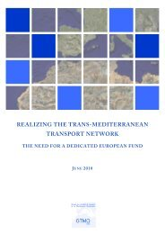 realizing the trans-mediterranean transport network - cetmo