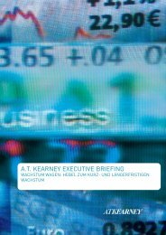 A.T. KEARNEY EXECUTIVE BRIEFING - AT Kearney Central Europe