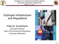 Hydrogen Infrastructure and Regulations - Virginia Clean Cities