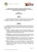 Regulamento Técnico Relativo à Instalação, Exploração e ... - saflii - Page 2