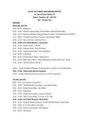 Program April 18