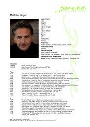 Unger, Matthias eng 10 - pure actors and presenters