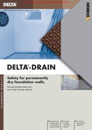 DELTA®-DRAIN - Building Product Search