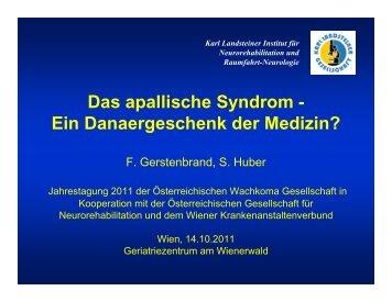Das apallische Syndrom - Österreichische Wachkoma Gesellschaft