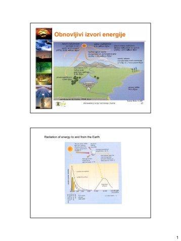 Obnovljivi izvori energije - FESB