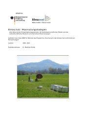 Klimaschutz - Moornutzungsstrategien - Lehrstuhl für ...