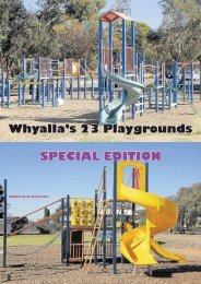 Whyalla's 23 Playgrounds SPECIAL EDITION - City of Whyalla