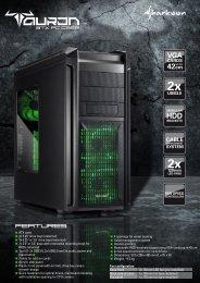 ATX case 2x 5.25