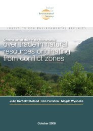 over trade in natural resources originating from conflict zones