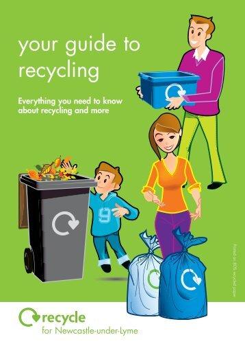 37705 NBC Recycling Bklt - Newcastle-under-Lyme Borough Council