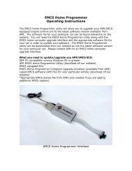 APR EMCS Home Programmer Operating Instructions(177K PDF)