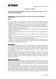 ENERWAT Proposal Partner Search Page 1 of 3 PROPOSAL ... - 7RP
