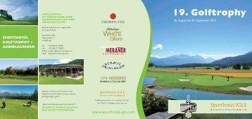 19. Golftrophy - Sporthotel Igls