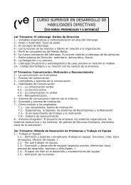 curso superior en desarrollo de habilidades directivas - TuTrabajo.org