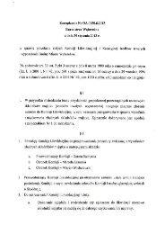 powołania stałych Komisji Likwidacyjnej i Kasacyjnej środków ...