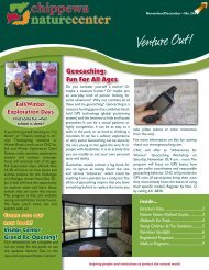 Geocaching: Fun For All Ages - Chippewa Nature Center