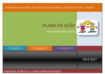 PLANO DE AÇÃO - Prefeitura Municipal de Feira de Santana