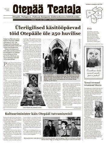 OT 7 2007.indd - Otepää vald