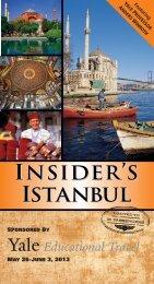 INSIDER'S ISTANBUL
