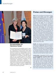 Preise und Ehrungen - Technische Universität München