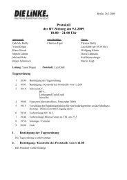Protokoll der BV-Sitzung vom 9.2.2009 (pdf) - Reinickendorf