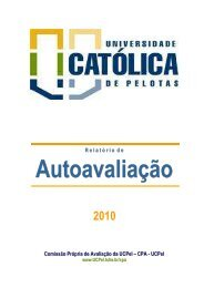 2010 - Universidade Católica de Pelotas