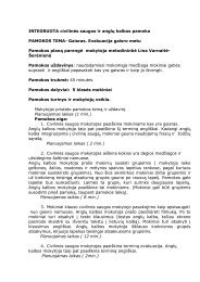 Gaisras. Evakuacija gaisro metu - Vilniaus lietuvių namai