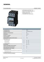 Product data sheet 3RV2011-1KA10 - TP Automation e.K.