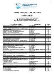 DU DIU CEU - Timone.univ-mrs.fr - Université de la Méditerranée
