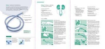 Detour subkutane Harnableitung Detour Prothese ... - Coloplast