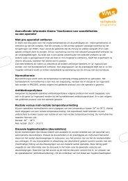 Aanvullende informatie thema POWI - VMS