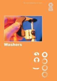 Washers - RGA and PSM Fasteners