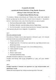Protokół Nr 30/13/KR z dnia 19 kwietnia 2013 r. - BIP Gminy ...