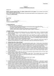 Pogodba o priključitvi (vzorec) - Petrol