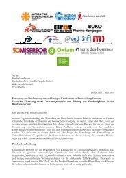 Offener Brief an Bundeskanzlerin Frau Dr. Angela Merkel