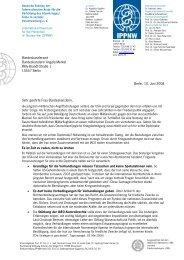 Offener Brief an Angela Merkel - ippnw