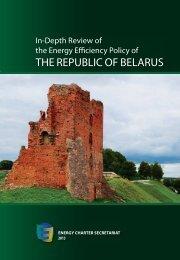 In-Depth Energy Efficiency Review of Belarus - Embassy of the ...