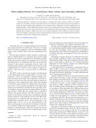 Mode-coupling behavior of a Lennard-Jones binary mixture upon ...