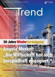 """Angela Merkel: """"Die Wirtschaft hat sich beispielhaft engagiert."""""""