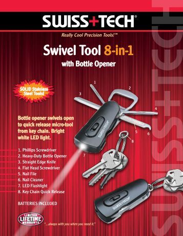SW296 Swivel Tool 2p 2 - Swiss+Tech Products
