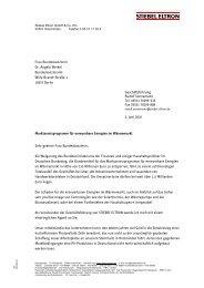 Frau Bundeskanzlerin Dr. Angela Merkel ... - Baulinks