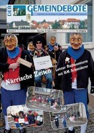 Ausgabe :Gomaringen 18.02.12.pdf - Gomaringer Verlag