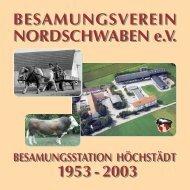 Vorwort des Vorsitzenden Helmut Schürer - Besamungsverein ...